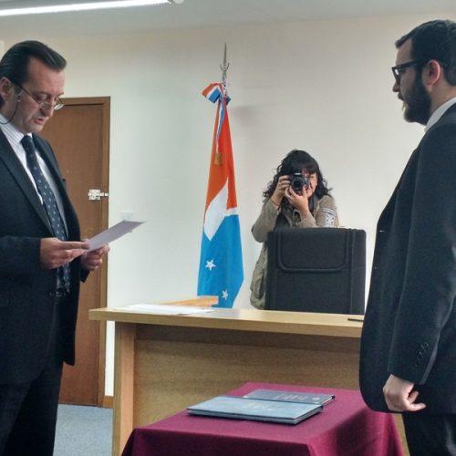 Nuevo Secretario Interino en el Ministerio Público Fiscal del DJN