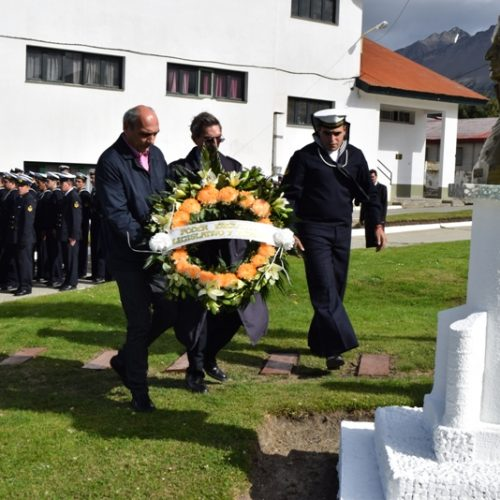 El Superior Tribunal de Justicia participó del Aniversario por el fallecimiento del Almirante Brown