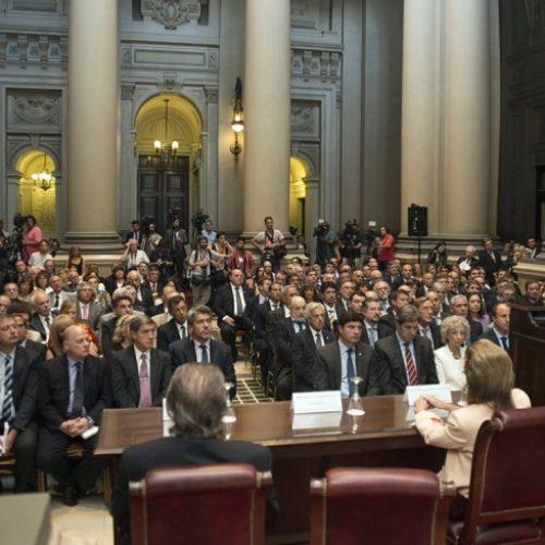 La Doctora Battaini participó de la apertura del año judicial
