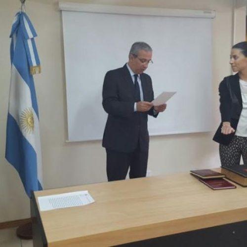 Juró nueva Prosecretaria Interina en Ministerio Público de Defensa DJS
