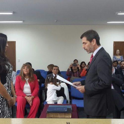 Tomaron jura a Prosecretaria Interina del Juzgado Correccional DJN