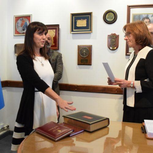 Juró la nueva Prosecretaria Letrada de Superintendencia
