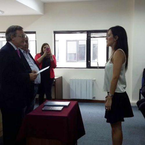 La Doctora Pacchiotti juró como Prosecretaria Interina del Tribunal de Juicio DJN