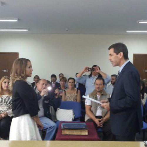 Juró Prosecretaria Interina en Juzgado de Ejecución DJN
