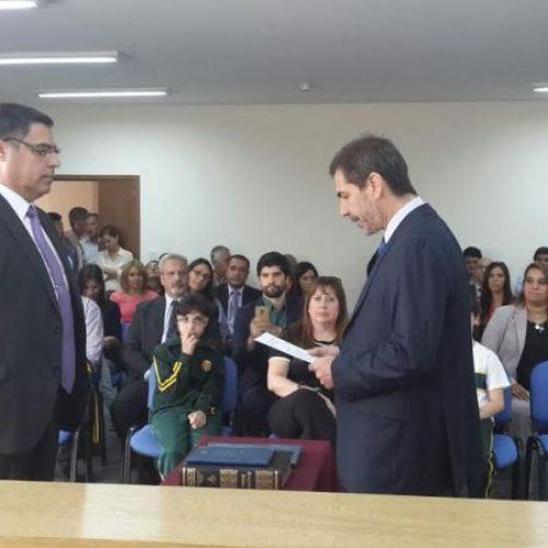 El Doctor Sahade juró como Secretario Interno del Juzgado de Ejecución de Río Grande