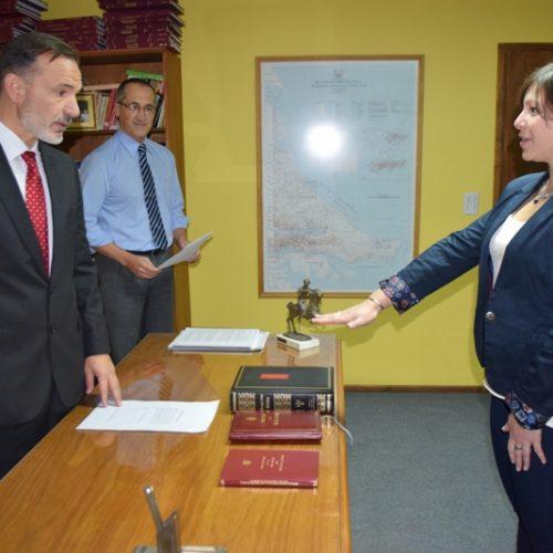 Designan a Prosecretaria Interina en Juzgado Laboral del Distrito Judicial Sur