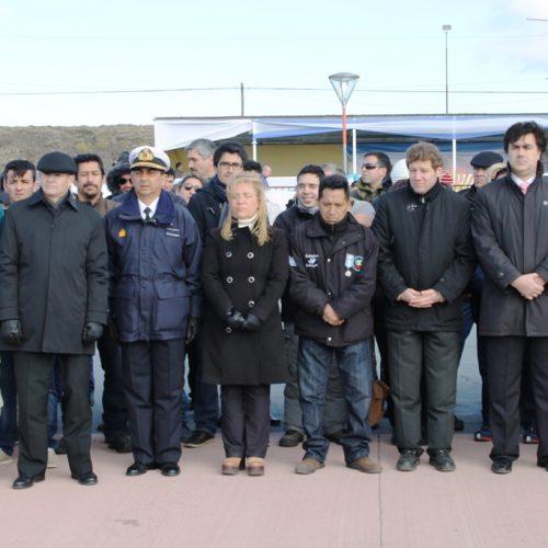 El Presidente de la Cámara de Apelaciones participó junto a veteranos de guerra delaceremonia por el 34° aniversario de la gesta de las Islas Malvinas