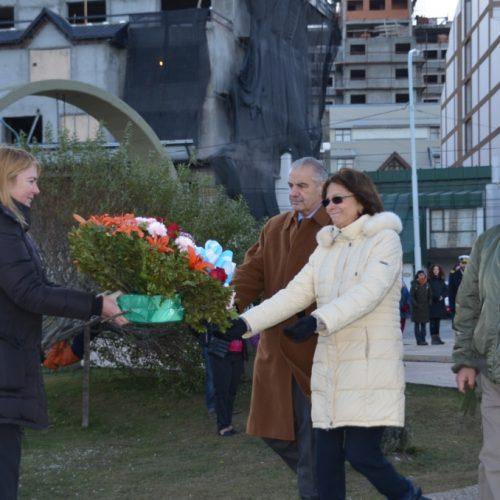 El Poder Judicial participó del acto de homenaje a náufragos del Crucero General Belgrano