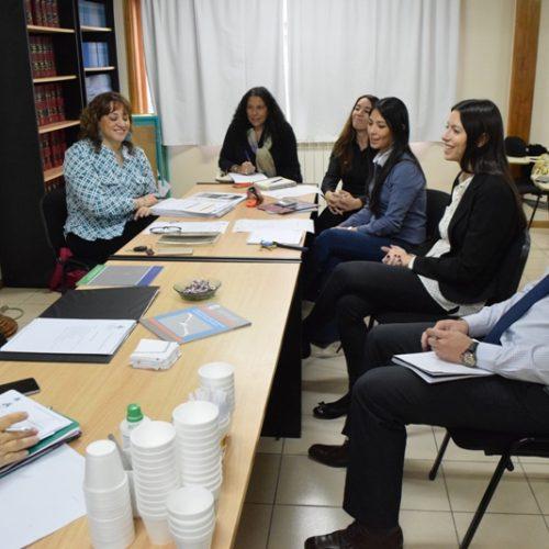 La Doctora Battaini se reunió con el equipo completo de PEC