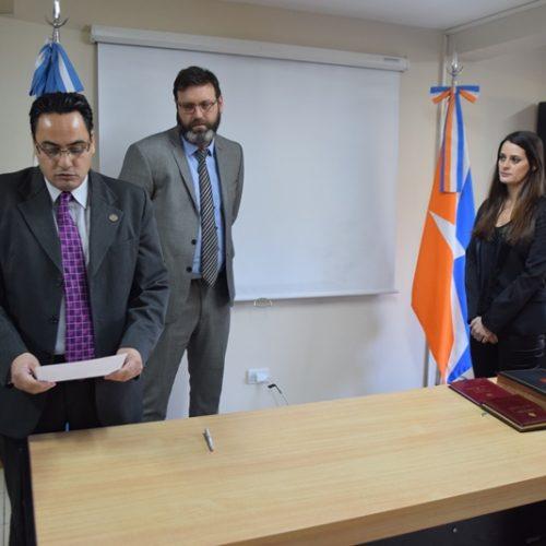 Juró la Prosecretaria de Ejecución de Civil y Comercial N° 2 del Distrito Judicial Sur