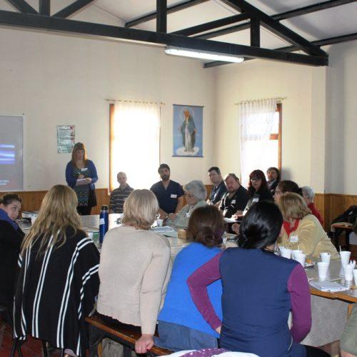 Con organizaciones de la comunidad se concretó el primer encuentro del año de Mesa de Redes en Tolhuin