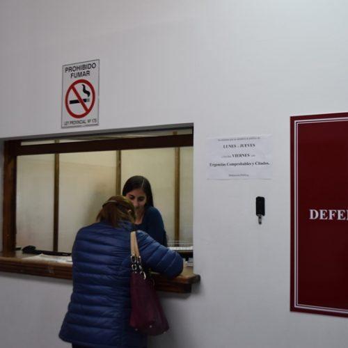 El edificio de Tribunales de Ushuaia cuenta con nueva señalética