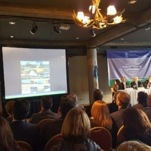 La Doctora Battaini participó de la presentación de Plan Estratégico Consensuado del Superior Tribunal de Justicia de Río Negro