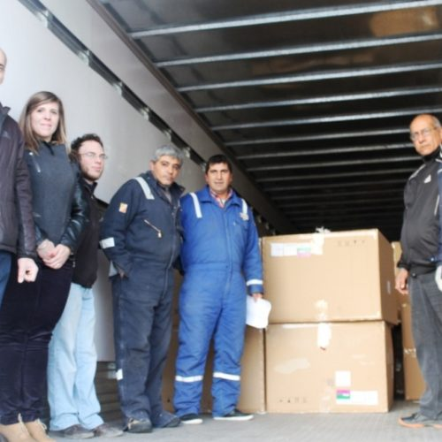 El Poder Judicial continúa colaborando con la donación de papel reciclado
