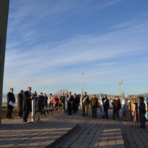 El Superior Tribunal de Justicia participó de ceremonia por el Día de la Bandera en Ushuaia