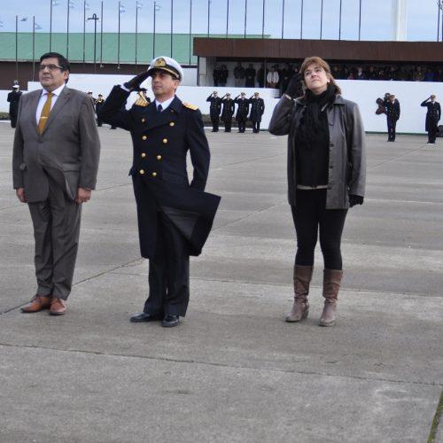 El Presidente de la Cámara de Apelaciones participó del 69° Aniversario del Batallón de Infantería de Marina N°5