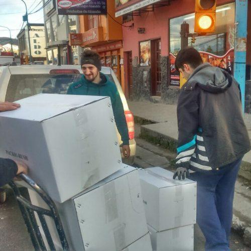 El Poder Judicial donó mil kilos de papel a la Fundación Garrahan