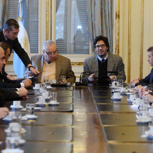 El Superior Tribunal de Justicia participó de la firma de convenio con ministerio de Justicia de Nación en la Casa Rosada