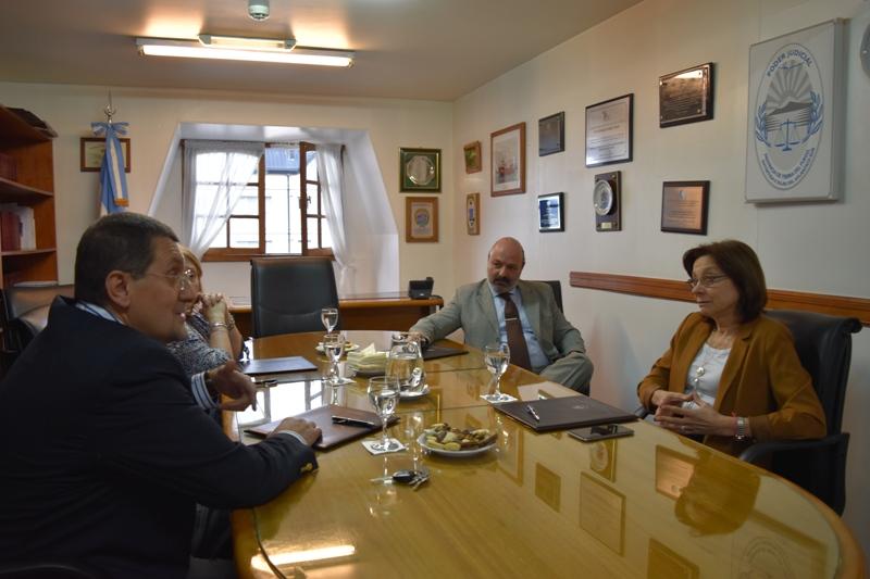 Reunión STJ con jueces de Cámara de Apelaciones (3)