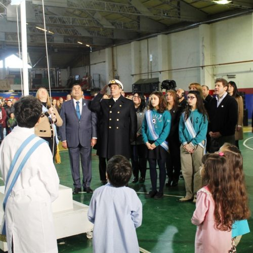El Presidente de la Cámara de Apelaciones participó del acto central en conmemoración del Día de la Bandera en Río Grande