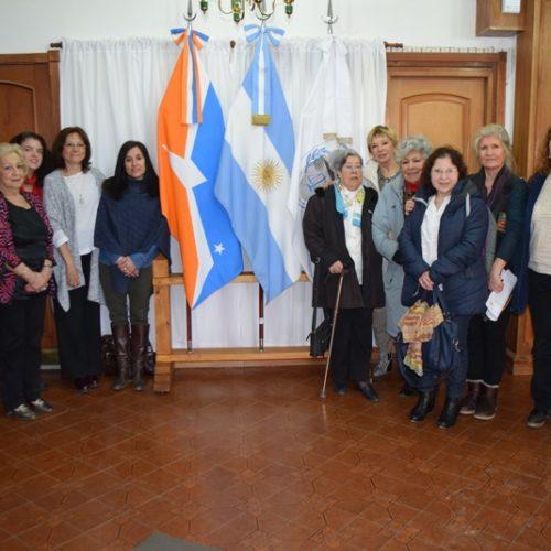 La Doctora Battaini mantuvo un encuentro con mujeres de paz de Tierra del Fuego