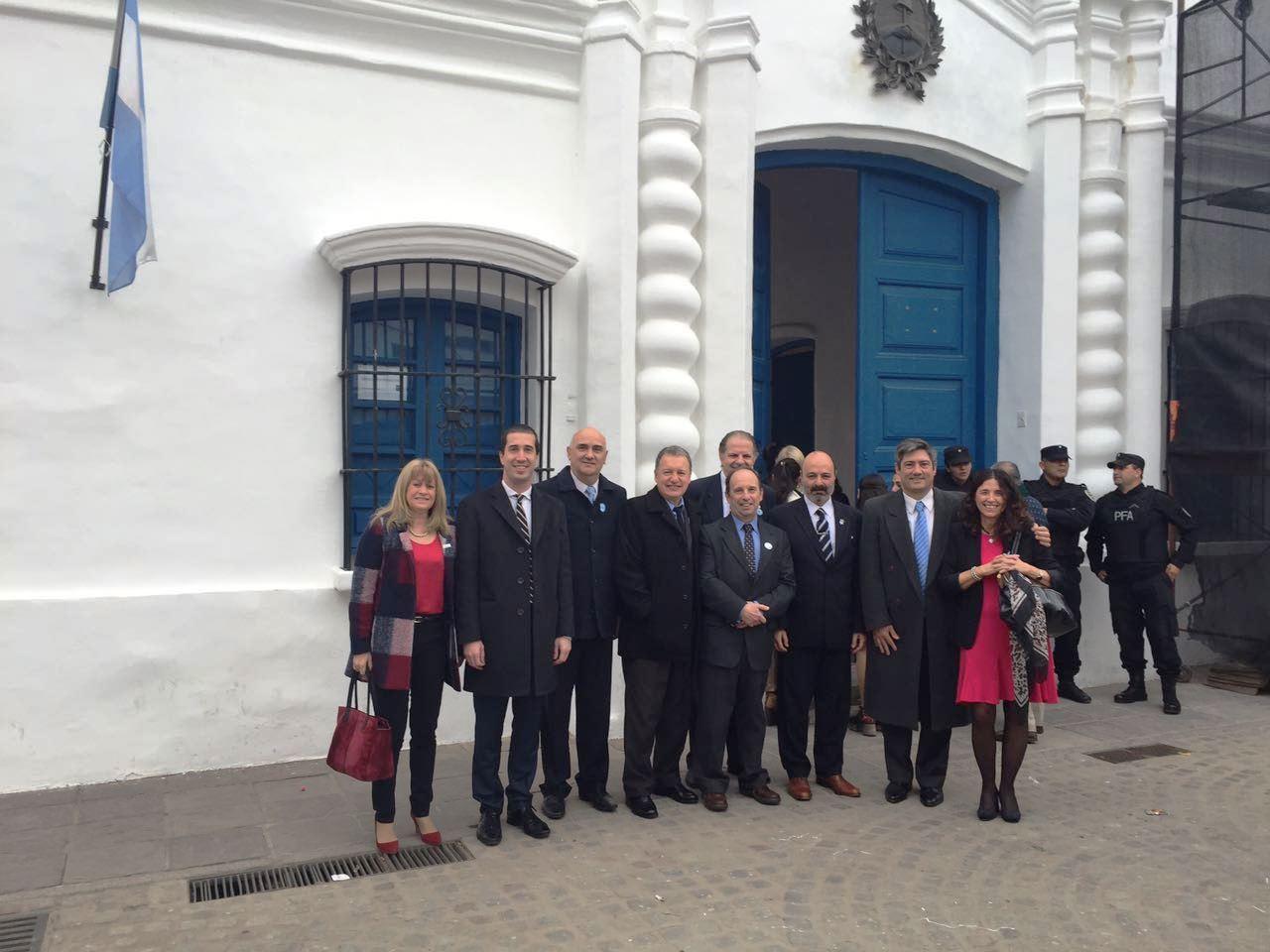 Jufejus participó de homenaje de la justicia a la Independencia Argentina