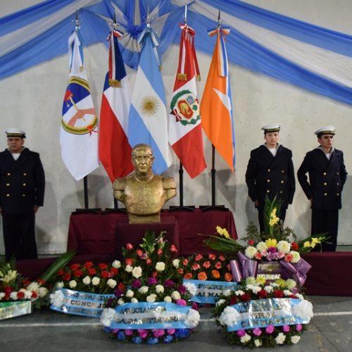 El Poder Judicial participó de los actos por el Aniversario del fallecimiento del General José de San Martín
