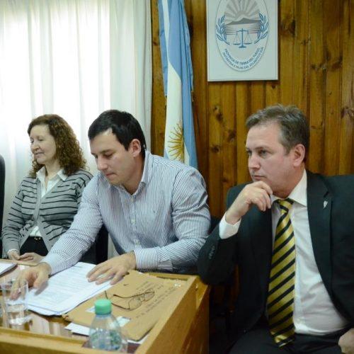 Entrevistaron a postulantes a Jueces del Tribunal de Juicio en lo Criminal en Río Grande