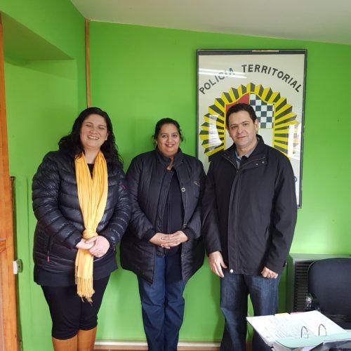 El Defensor Mayor mantuvo encuentro con integrantes de la Oficina de Minoridad y Familia en Tolhuin