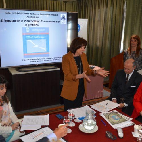 Exponen avances del Plan Estratégico Consensuado en encuentro de calidad de gestión judicial
