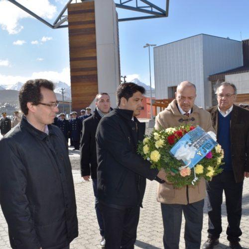 El Doctor Sagastume participó del acto por el 110º Aniversario del fallecimiento del Comodoro Lassarrre