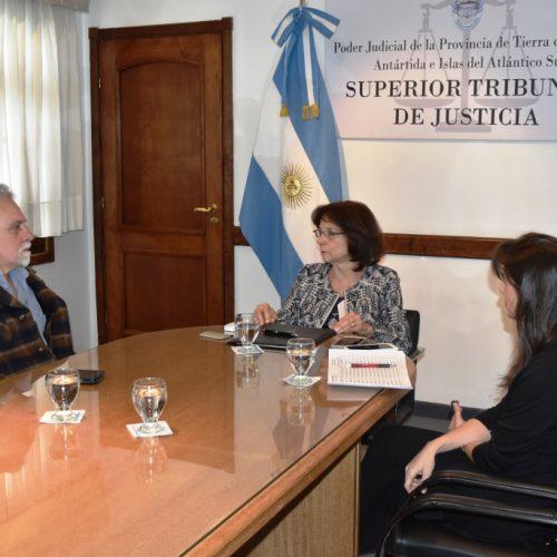 El Poder Judicial formará parte de la redacción de una obra sobre Tierra del Fuego