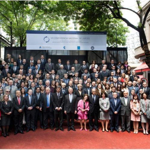 El Superior Tribunal de Justicia participó de la VII Conferencia Nacional de Jueces