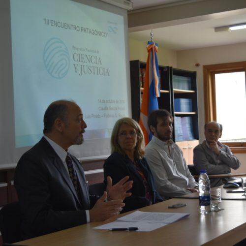 Se desarrolló el Tercer Encuentro Patagónico del Programa Ciencia y Justicia CONICET