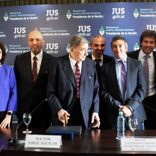 Battaini y Sagastume participaron del acto homenaje al Juez Federal Jorge Aguilar