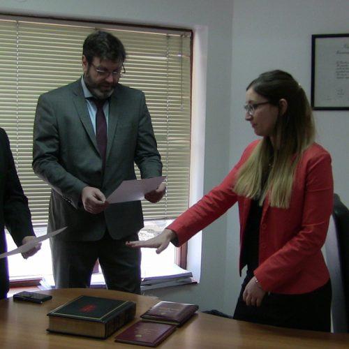 Prestó juramento Prosecretaria Interina del Juzgado Civil y Comercial Nº 2 del DJS