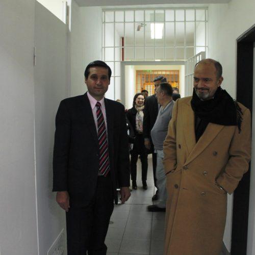 El Vicepresidente del Superior Tribunal de Justicia recorrió la Unidad de Detención N° 1 del Servicio Penitenciario y anexos