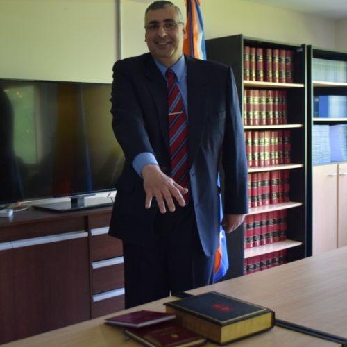 Prestó juramento Prosecretario Interino del Juzgado de Primera Instancia en lo Civil y Comercial Nº 1 del DJS