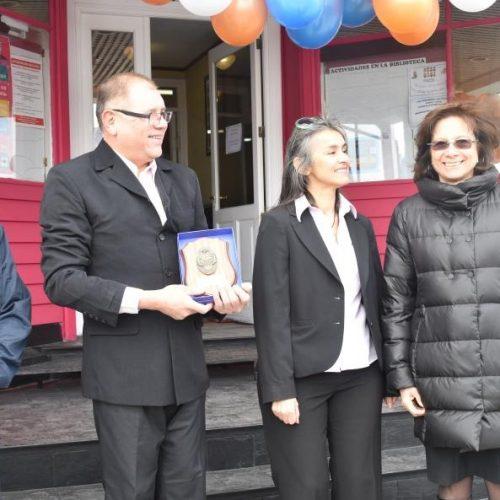El Superior Tribunal de Justicia participó del 90 aniversario de la creación de la Biblioteca Sarmiento