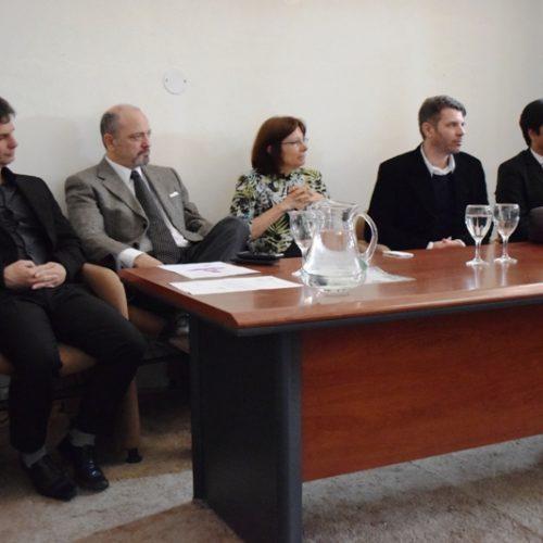 """Autoridades del Poder Judicial disertaron en la conferencia  """"Avances y Desafíos """""""