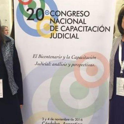 Autoridades del Poder Judicial participan en Córdoba del 20º Congreso Nacional de Capacitación Judicial
