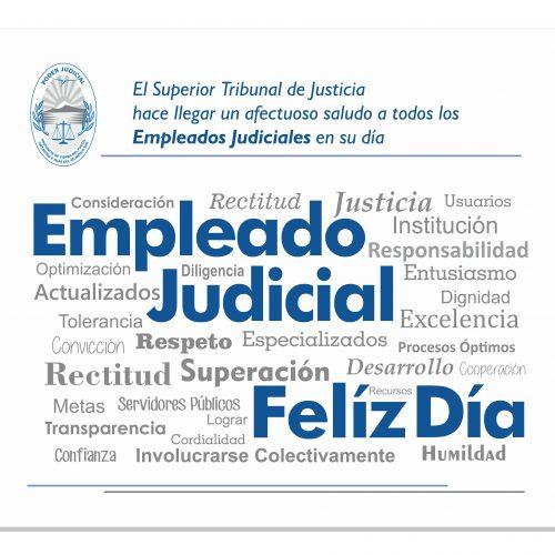 Feliz día al Empleado Judicial