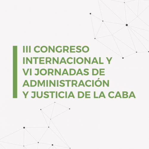 Doctor Sagastume participó de III Congreso Internacional y VI Jornadas de Administración  y Justicia
