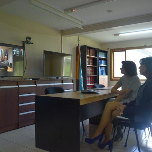 El Poder Judicial fueguino inauguró su sistema de videoconferencias