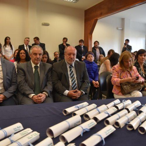 El Poder Judicial participó del cambio de autoridades del Colegio de Abogados de Ushuaia