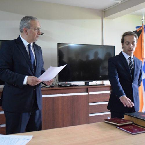 Fernández López asumió como Defensor Mayor del Distrito Judicial Sur