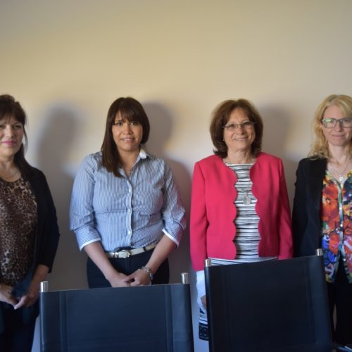 Battaini se reunió con integrantes de la Asociación Nacional de Politólogos en Tierra del Fuego