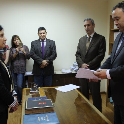 Prestó juramento la Secretaria interina del Juzgado Civil y Comercial N° 1 de Río Grande