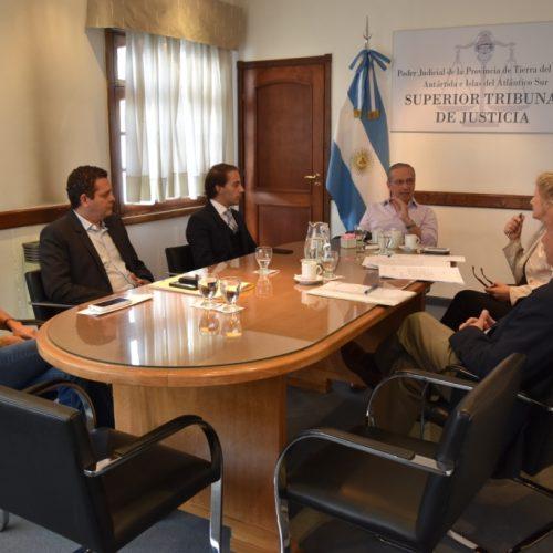 Fructífera reunión para mejorar la atención al ciudadano y el Acceso a Justicia