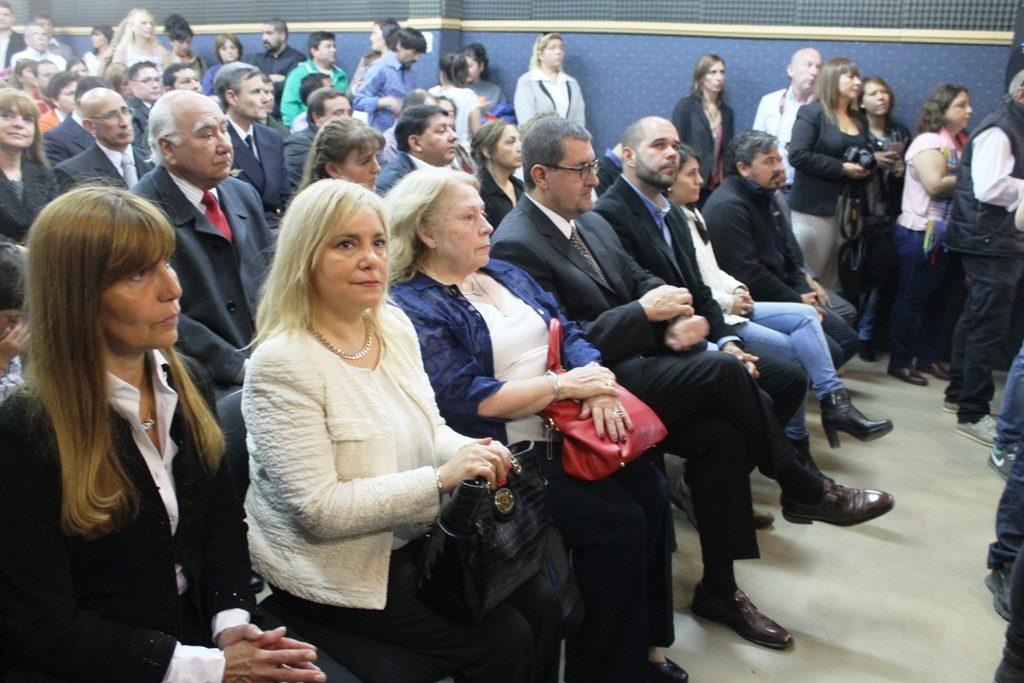 Los Jueces De la Torre y Martín asistieron al acto